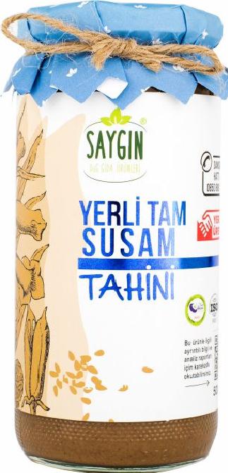 Local Whole Sesame Tahini 500 gr