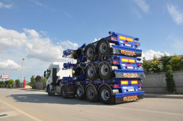 20 Feet Tipping Type Container Carrier