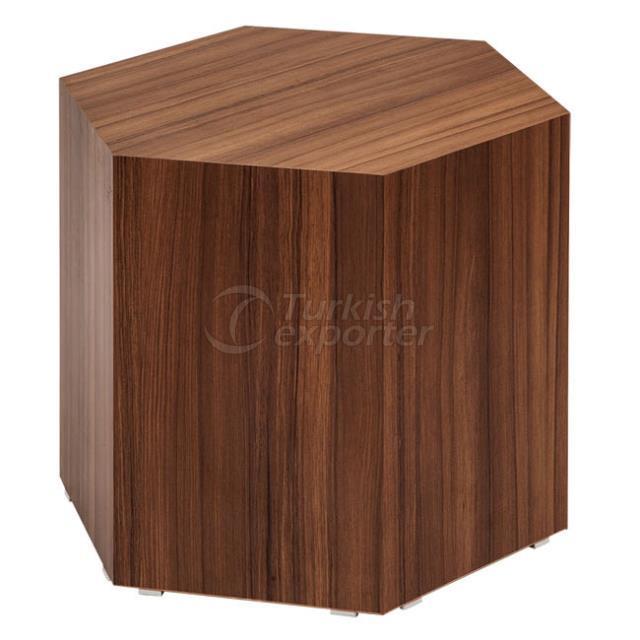 HEXAGONAL BOX COFFEE TABLE
