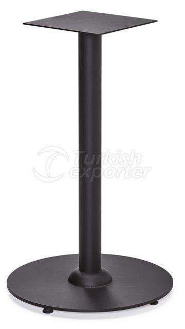 DCS-252-Round Table Leg Metal