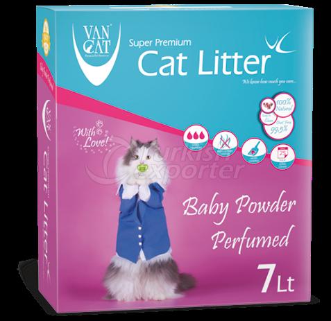 Cat Litter  -Baby Powder Perfumed