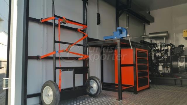 Vehículos de soldadura Mobil