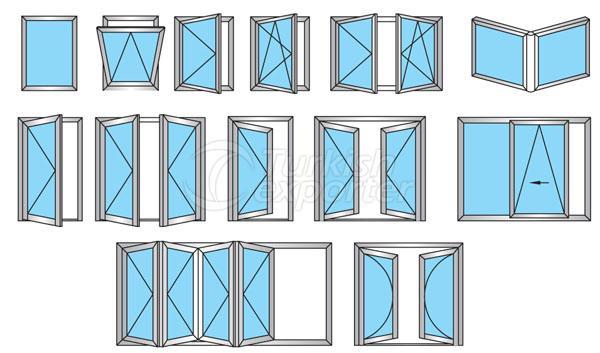 47C Alüminyum Kapı Pencere