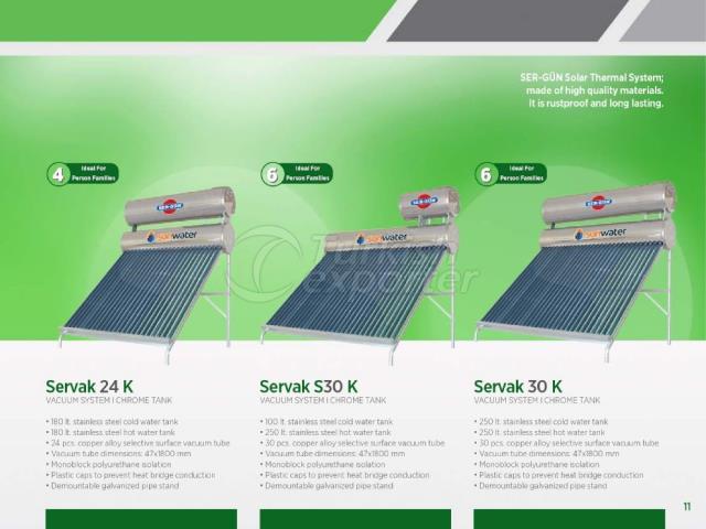 Solar Energy Servak S24K-S30K-S30K