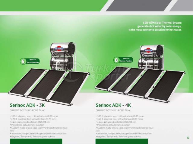 Energía solar Serinox ADK-3K - 4K