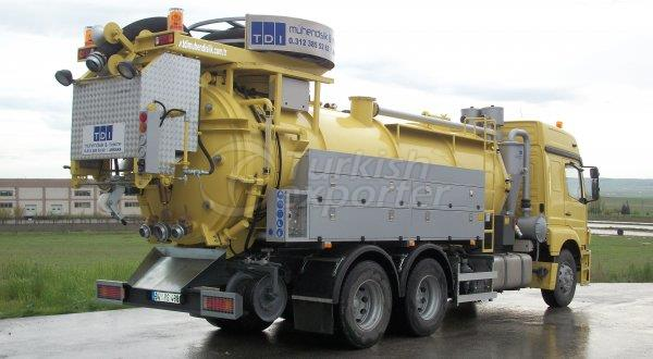 Sewer Cleaning Truck CD Series