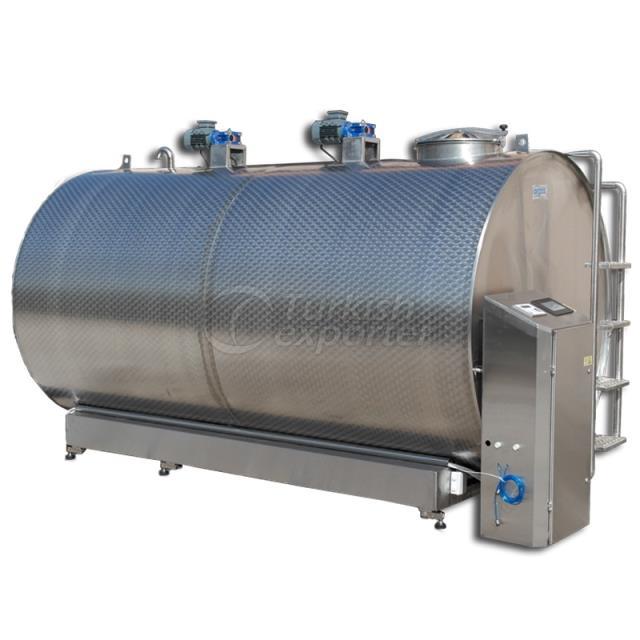 8.000 Liter Milk Cooling Tank