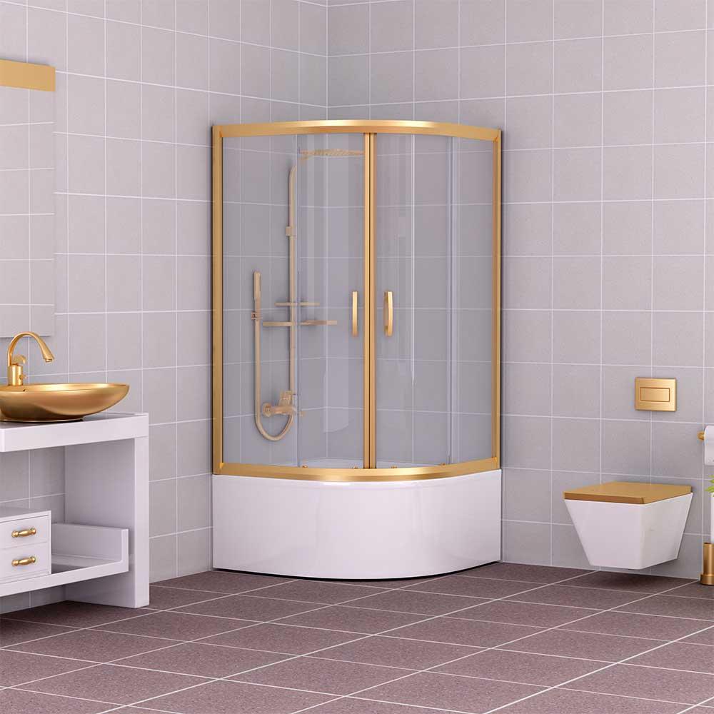 Oval Shower Cabin