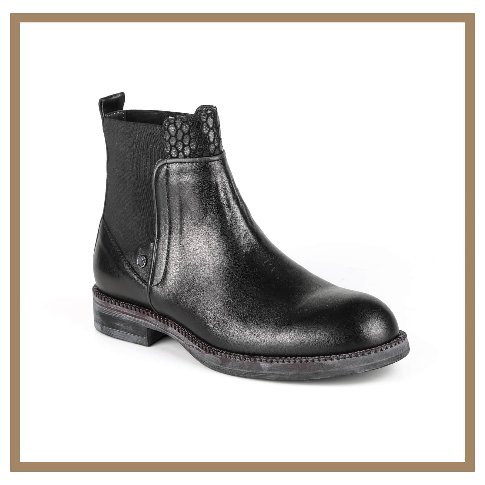 Leather Man Boots 005
