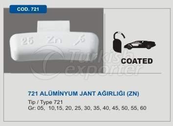 Kod 721 Kurşunsuz Alüminyum Tip Jant Balans Ağırlığı