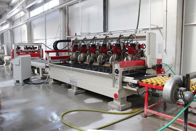 6 Head Conveyor Sizing Machine