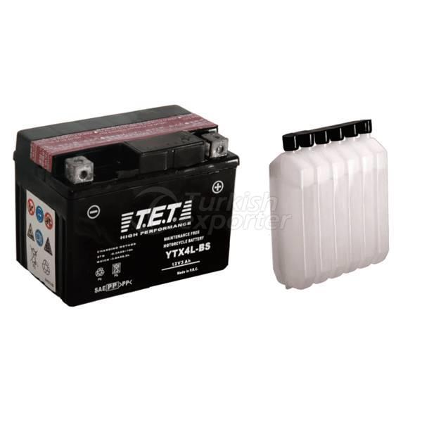 Batteries de moto TET
