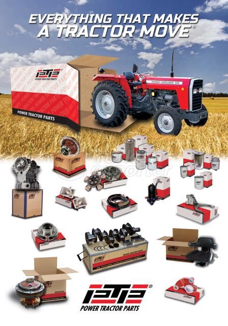 Piezas de repuesto para tractores PTP Aftermarket