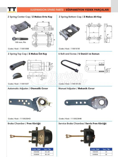 Suspension Spare Parts