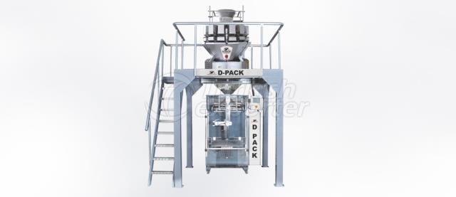 1000-موب مولتهيد التلقائي آلة التعبئة -DMR