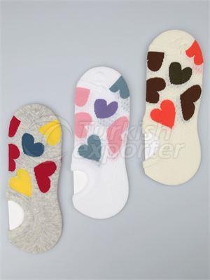 Women's Invisible Socks - 14645 (W78)