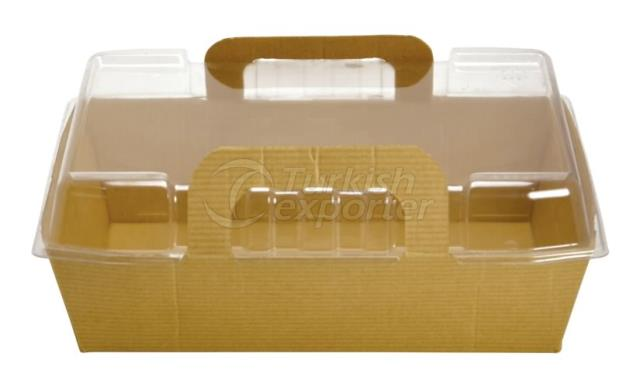 Salad Boxes With Plastic Lid