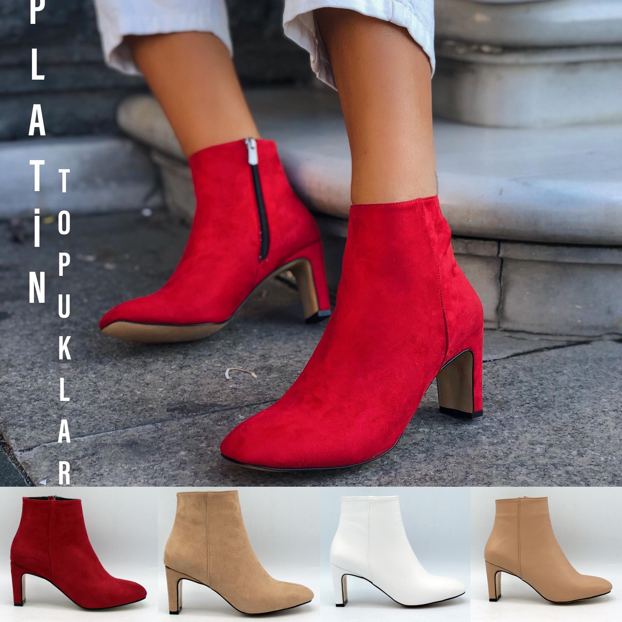 Stylish Heel Women Boots Trend Footwear