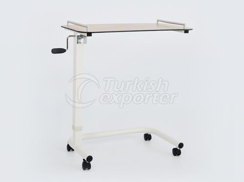 Table de lit mécanique