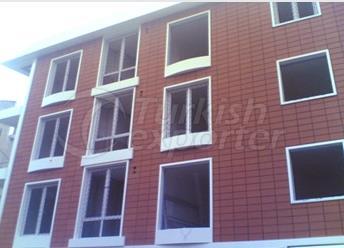 Brick and Composite Facade