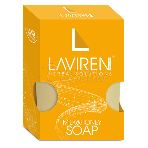 Milk and Honey Soap 100mg