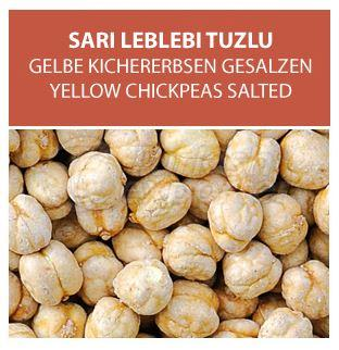 Yellow Chickpeas Salted