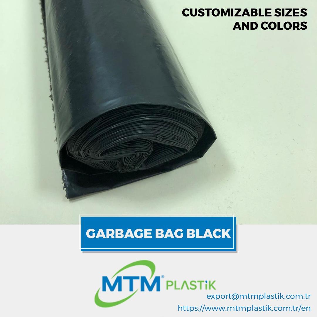 WASTE/ TRASH BAGS BLACK