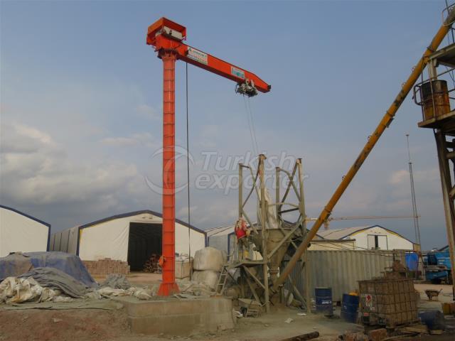 Turning Jib Cranes