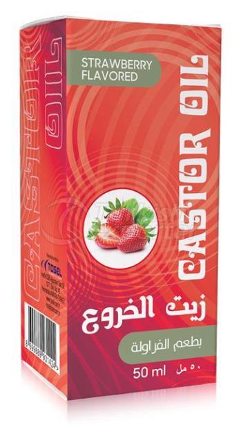 Castor Oil Strawberry