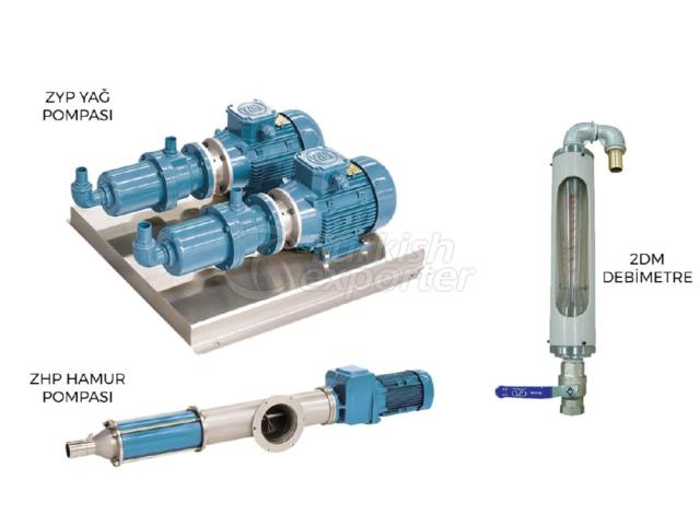 Oil Pump - Dough Pump - Flowmeter