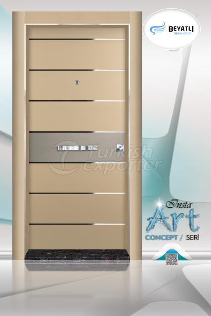 Steel Door - Insta 306