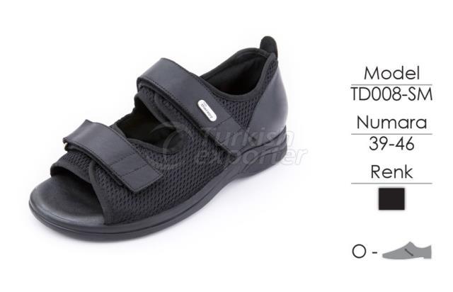Diabetic-Orthopedic Man Shoes TD008M