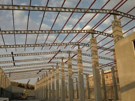 Construção de construção de aço