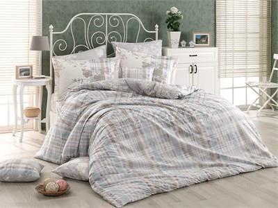 Elenora Grey - Poplin Single Bed Linen Set (8698499116764)