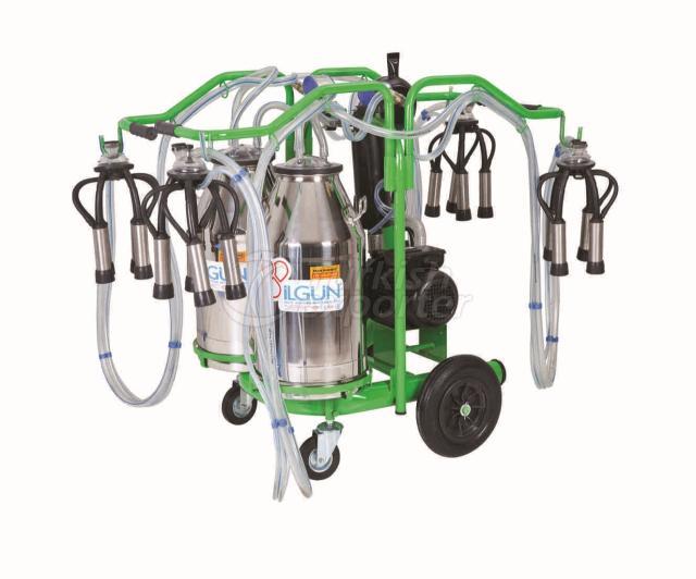 Portable Milking Trolley