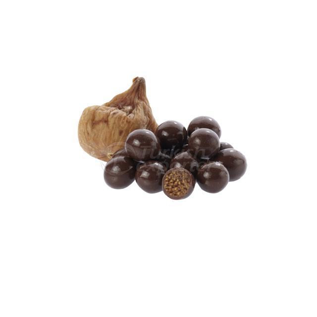 Chocolate Coated Fig