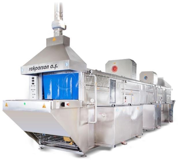 Belt Conveyor Washing Machine