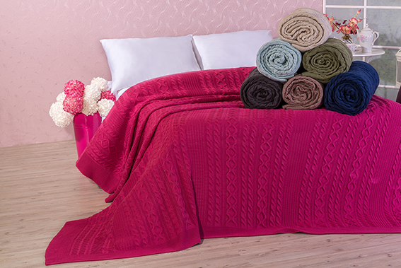 Knitted Home Blankets