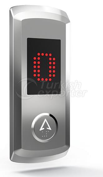 Botón de piso IAL 102