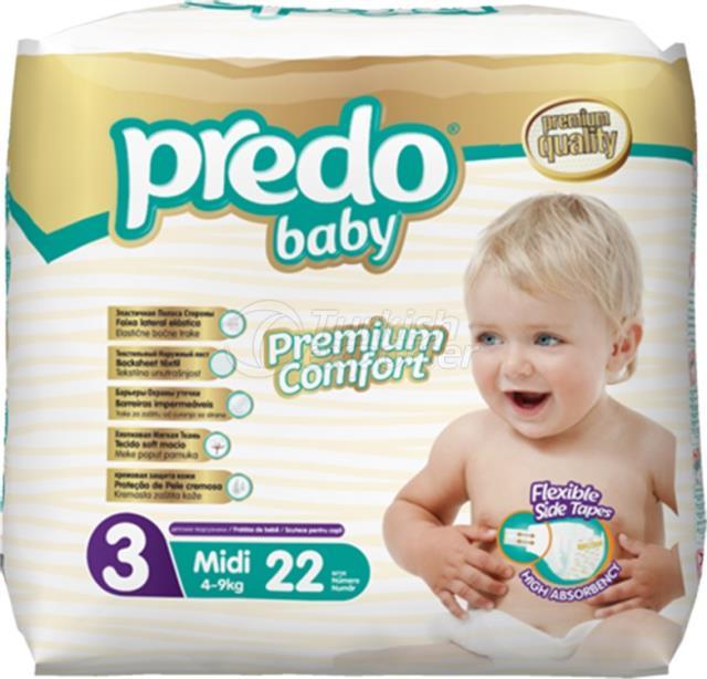 Baby Diapers Predo Economic Midi