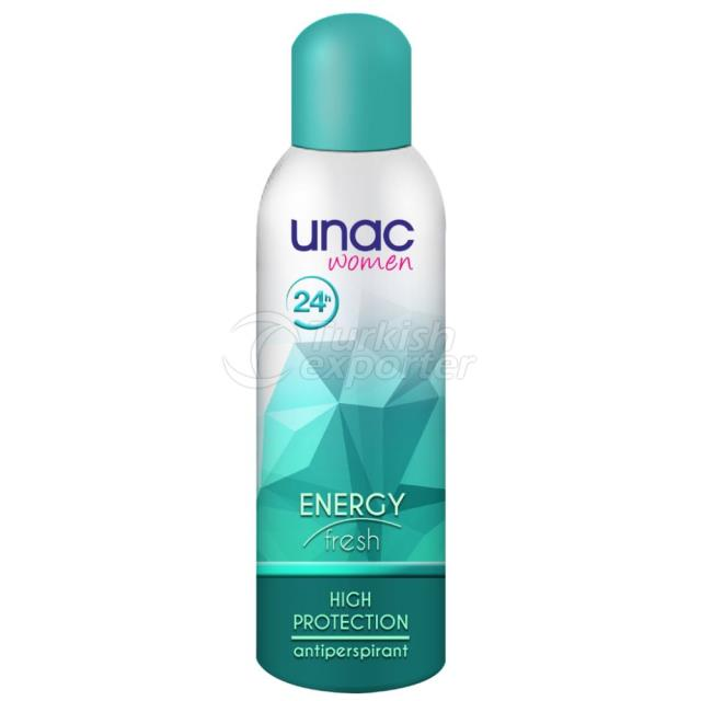 Un7006 - Unac Women Deo Energy 200ml