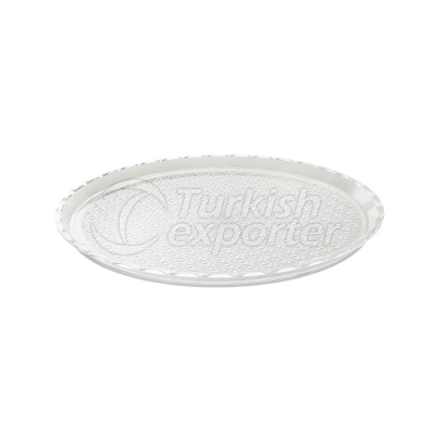 Round Unbreakable Display Tray