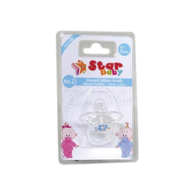 Transparent Silicone Soother No.1