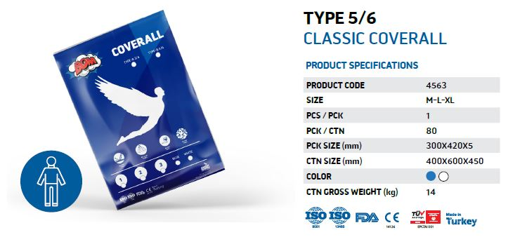 Classic Coverall - Type 5/6