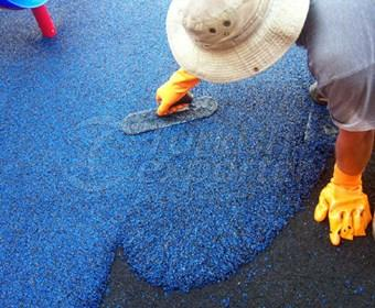 Pebble floor Coating