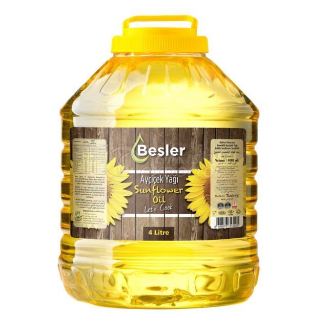 Sunflower Oil 4lt