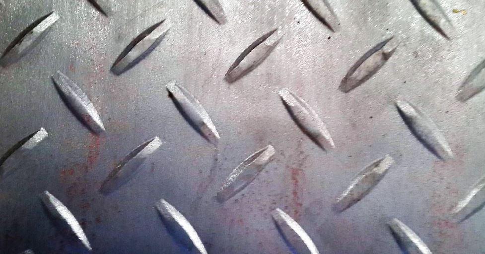 Chequered Plates ( Diamond Type - Tear Drop Type)