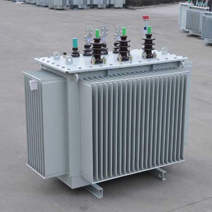 Transformador de distribución de aceite