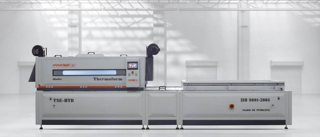 TERMOFORMING MACHINE / MAKSER TMF2 THERMOFORMING MACHINE