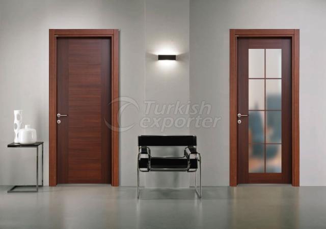 Melamine Glass Door MLMC-06